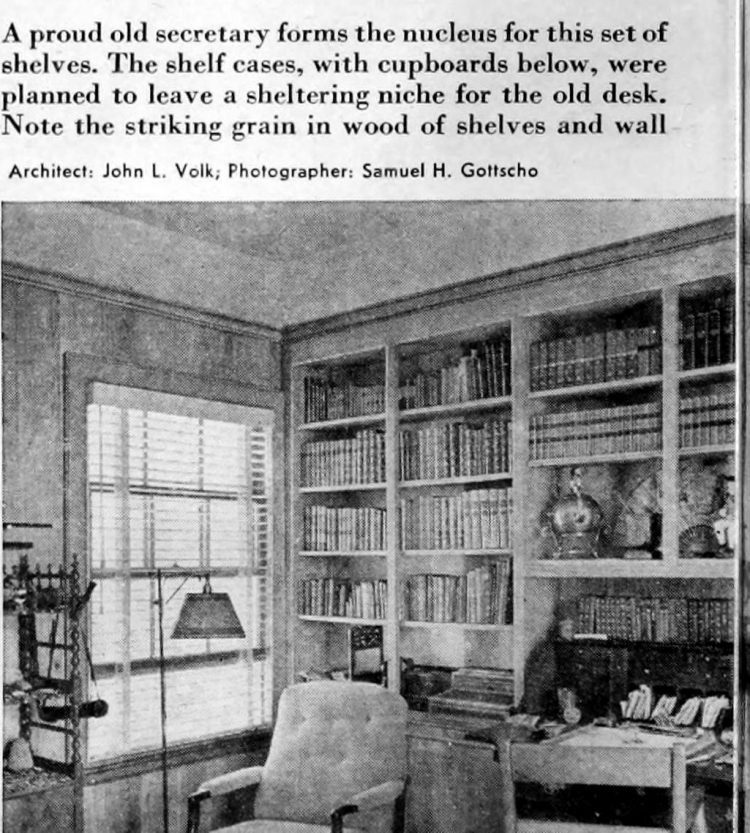 Home library - Books and shelving from 1941 (8)