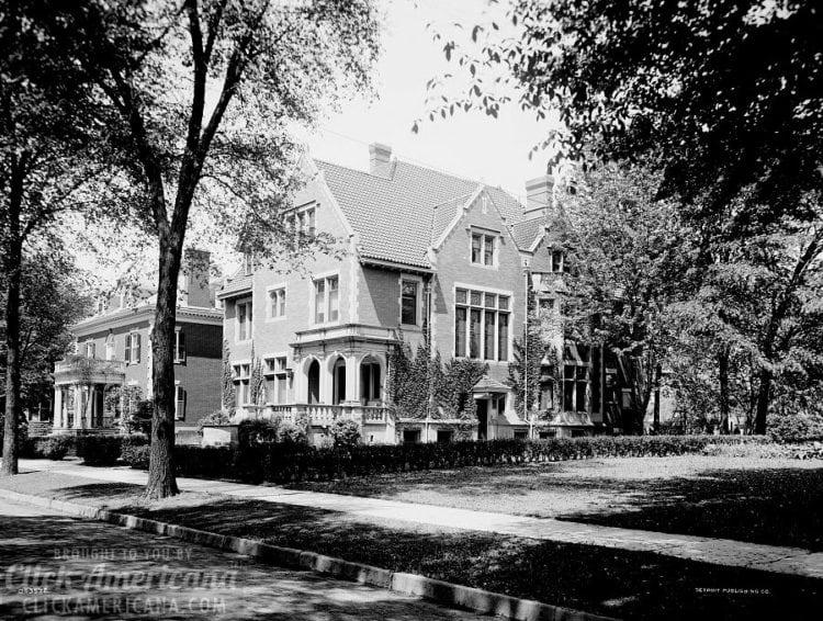 Home of Mr. Fair, 40 Putnam Avenue, Detroit, Mich c1910