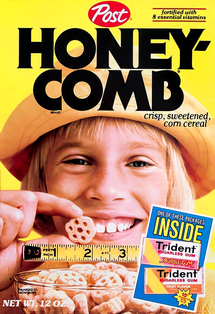 Honeycomb cereal from Post (1977)
