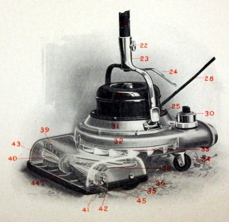 Hoover Suction Sweeper Co. manual from 1910 (2)