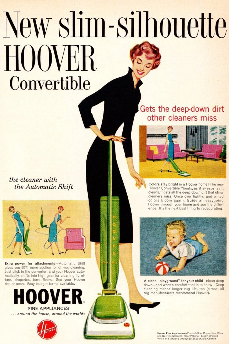 Hoover vacuum 1959