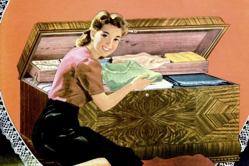Hope chest from 1944