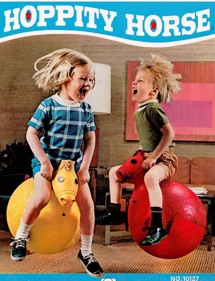 Hoppity Horse toys - Retro 1970s
