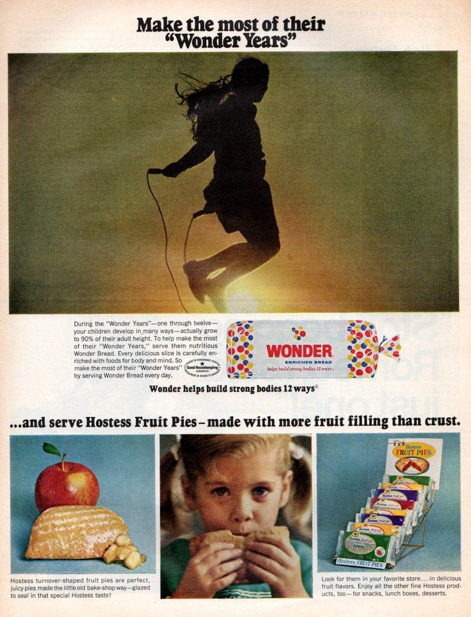 Hostess Fruit Pies & Wonder Bread (1961)