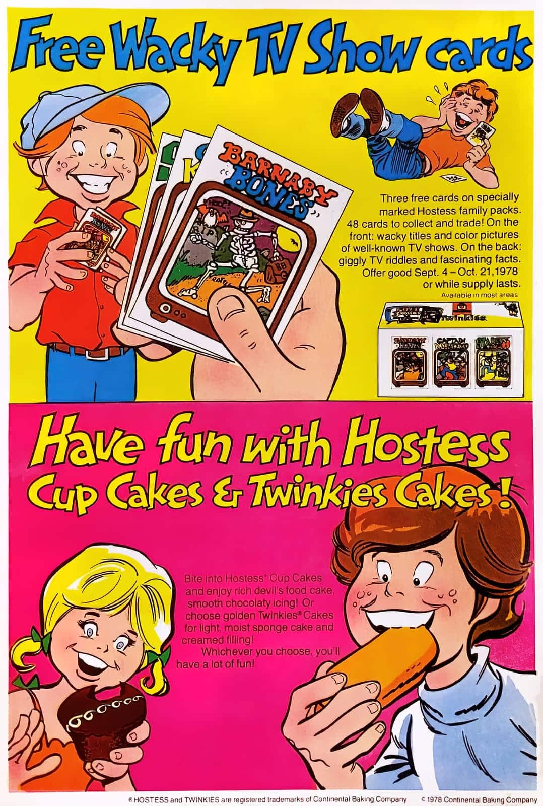 Hostess Twinkies and snacks (1978)