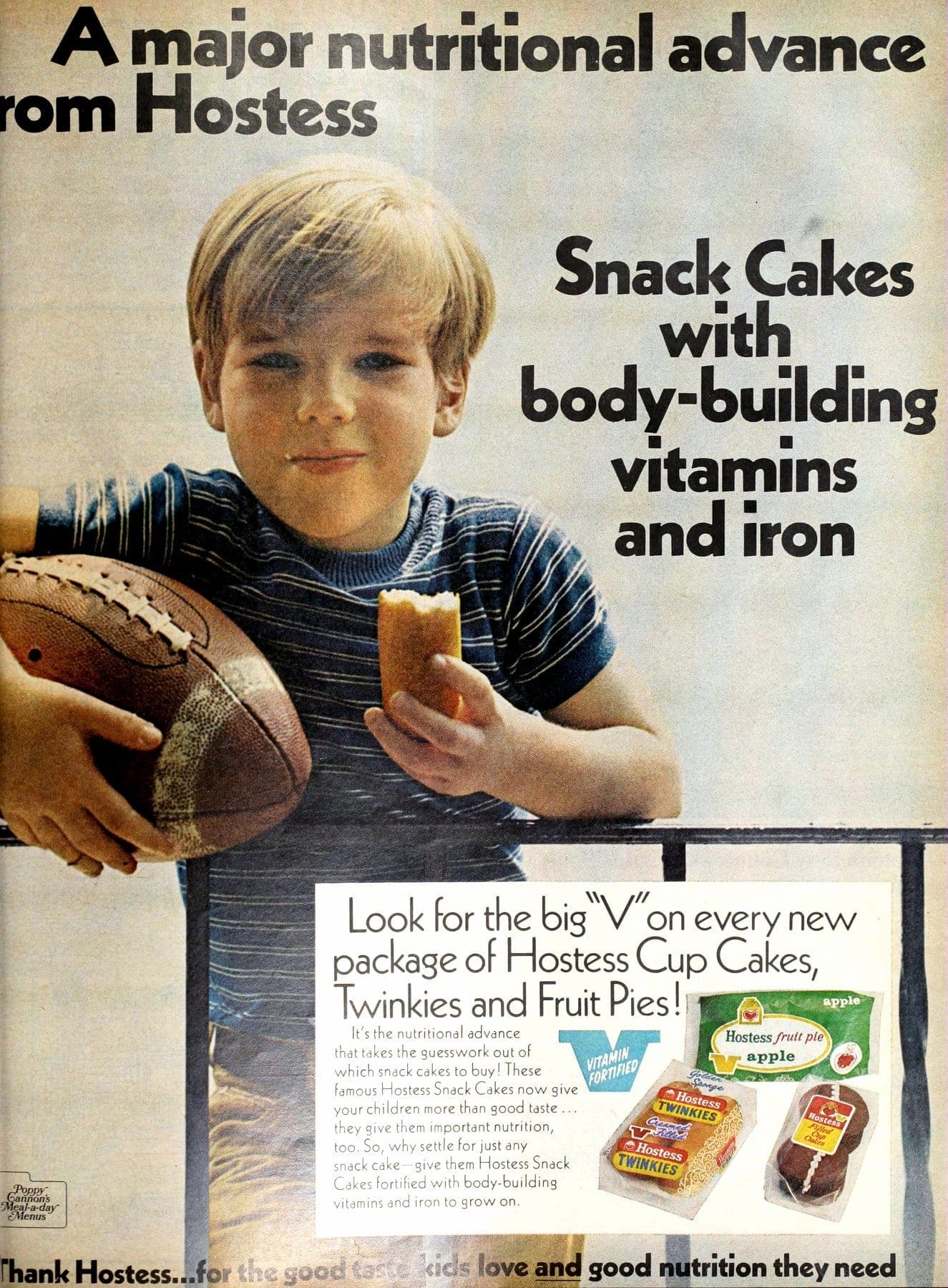Hostess snack cakes and fruit pies (1970)