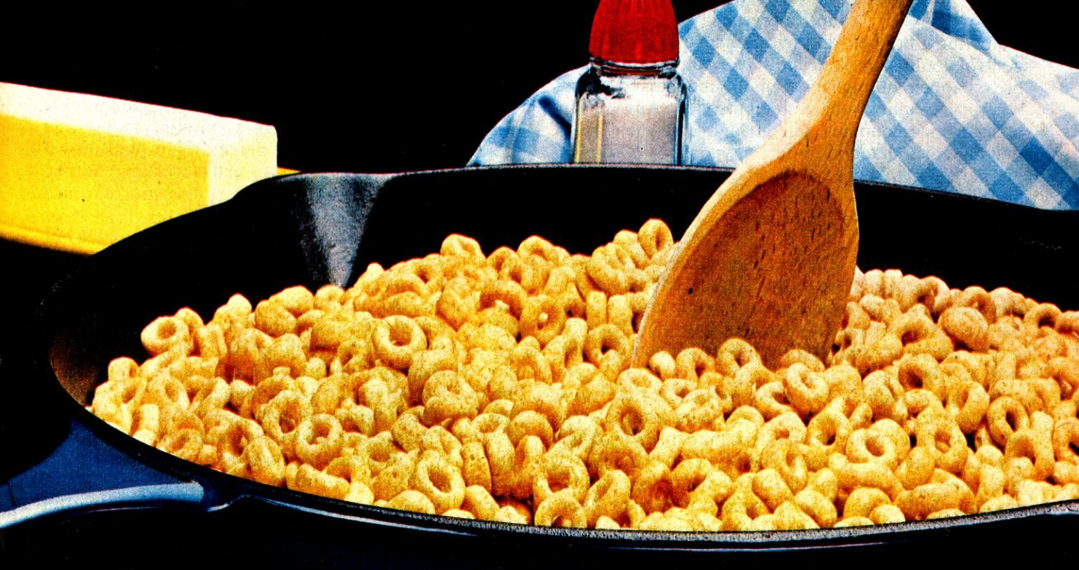 Hot buttered Cheerios recipe