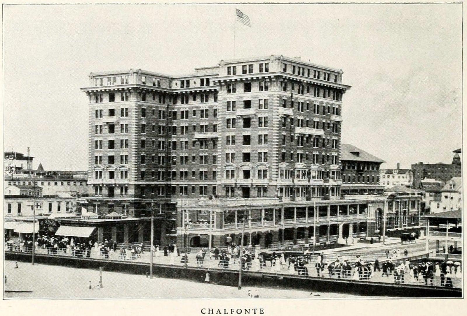 Hotel Chalfonte - Old Atlantic City (1911)