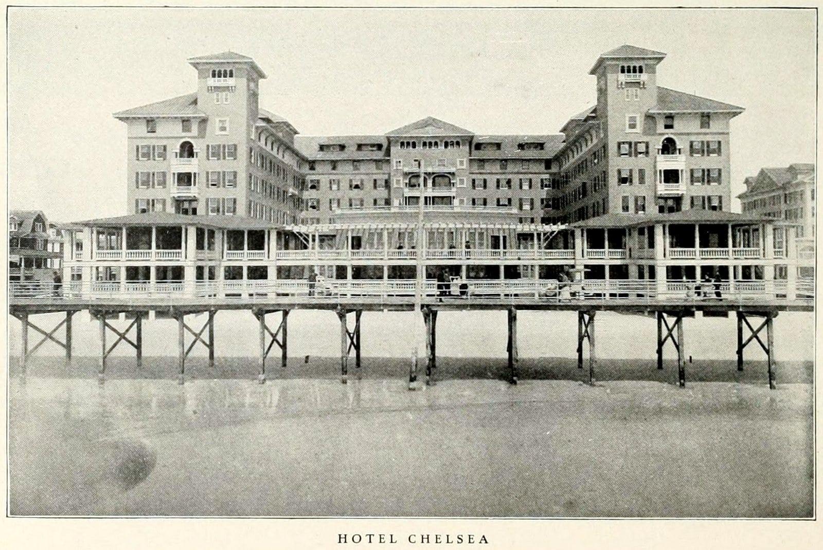 Hotel Chelsea - Old Atlantic City (1911)