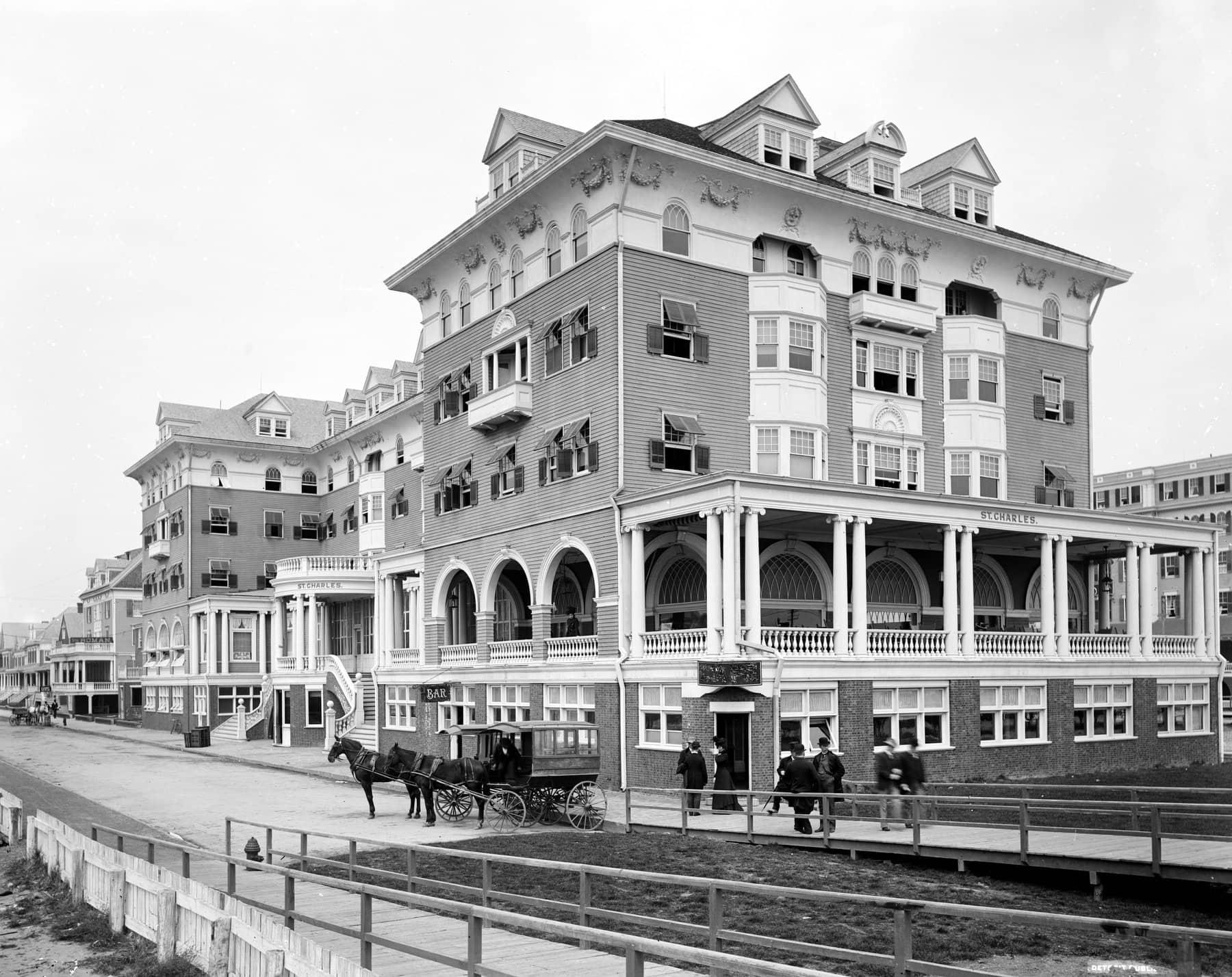 Hotel St. Charles, Atlantic City, New Jersey 1880-1890