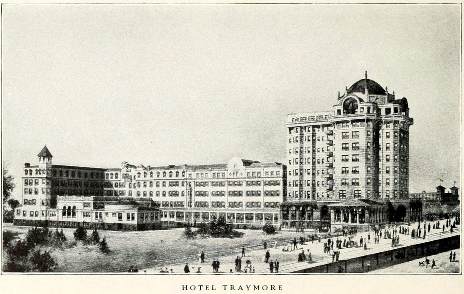 Hotel Traymore - Old Atlantic City (1911)