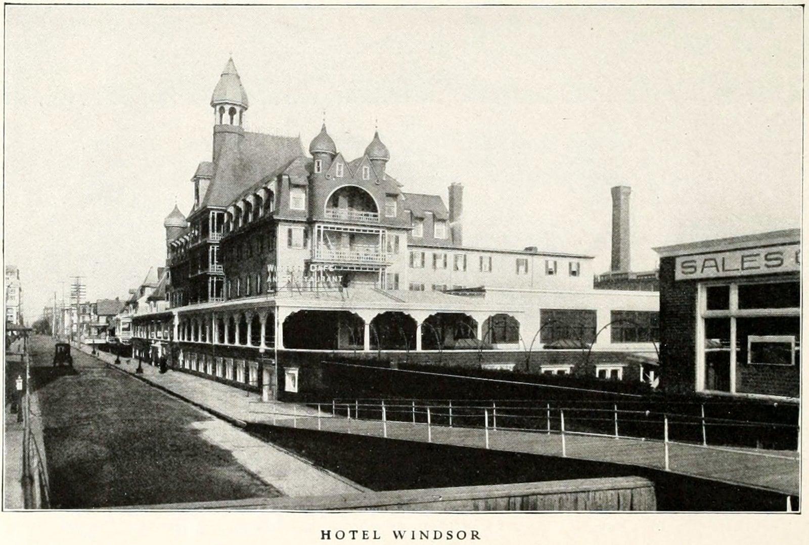 Hotel Windsor - Old Atlantic City (1911)