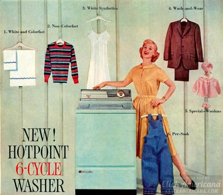 Hotpoint washer in 1959