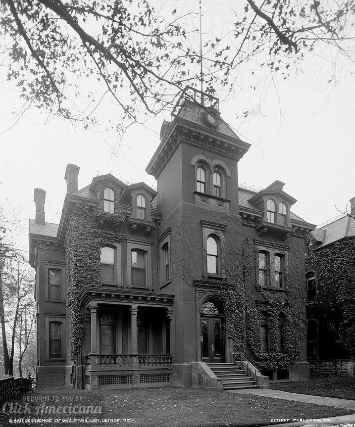 House of W.C. McMillan, Detroit, Mich. c1905