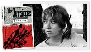 How Outsiders & Rumble Fish author S E Hinton got her start (1975)