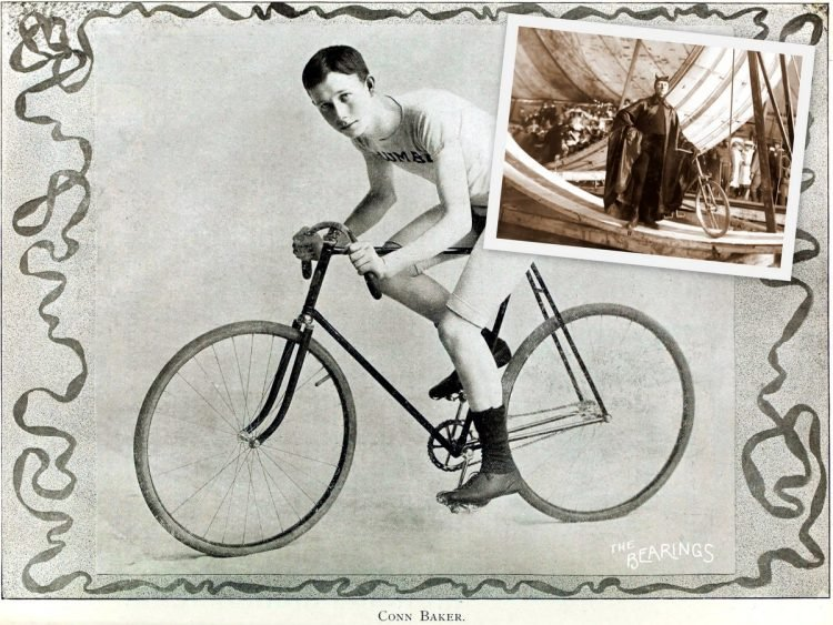 Conn Baker - How bicycle daredevil Diavolo looped the loops back in the early 1900s