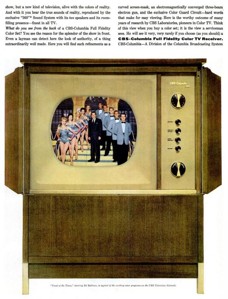 How color TV works - 1950s (1)