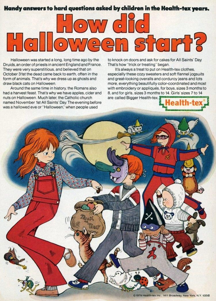 How did Halloween start? (1979)