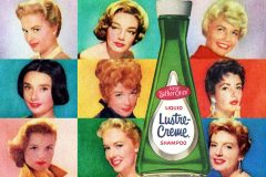 How the top actresses of the 50s 60s loved Lustre-Creme shampoo