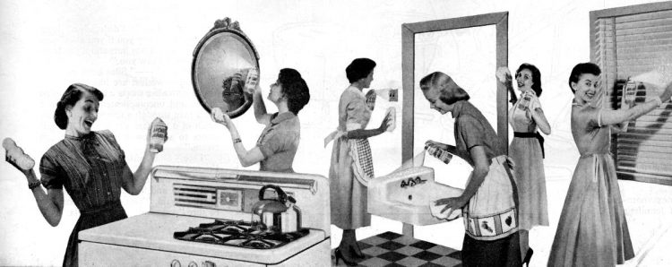 How to be a perfect 50s housewife Cleaning your home