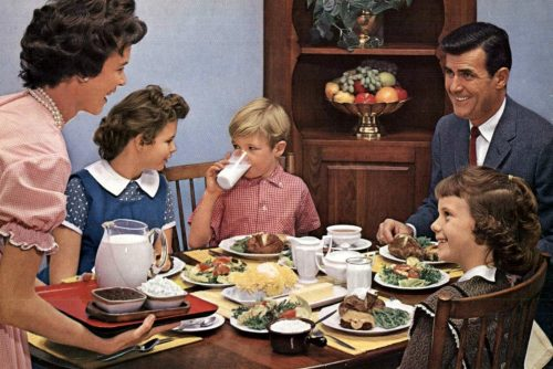 How to be a perfect fifties family