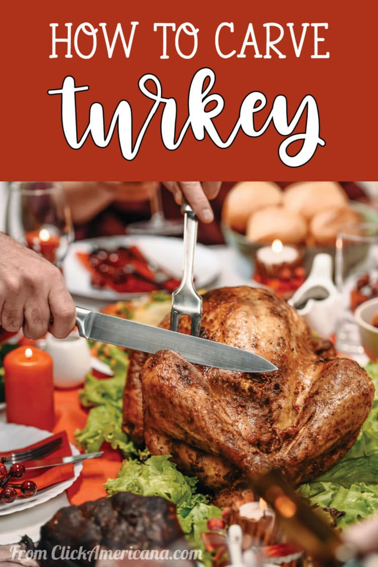 How to carve turkey, step-by-step, plus illustrations