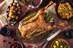 How to cook a Christmas goose the old-fashioned way