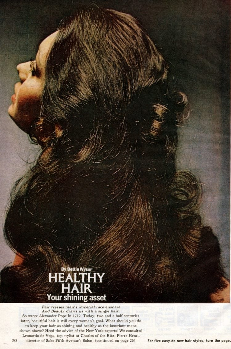 How to create 3 versatile 70s hairstyles (1972)