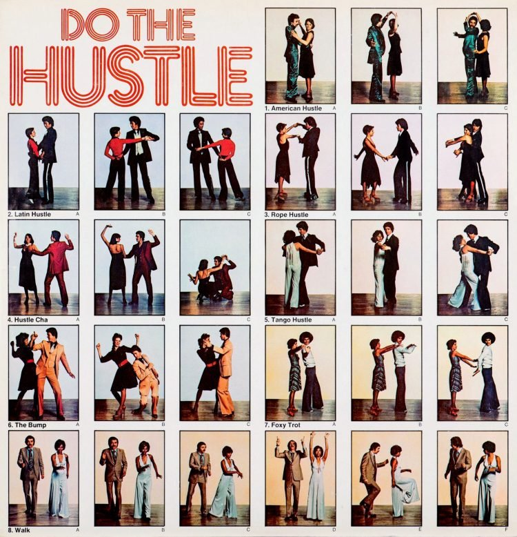 How to do the Hustle - the dance from the 70s