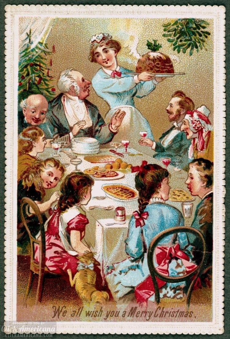 What was a Victorian Christmas dinner like? Take a look back at some traditional dishes served back in 1893