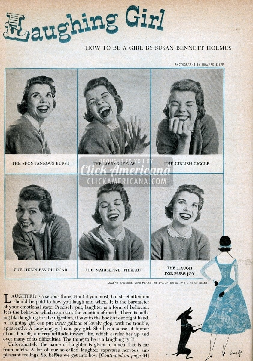 How to laugh, just for girls (1955)
