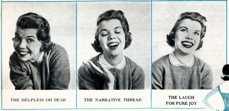 How to laugh, just for girls - from 1955