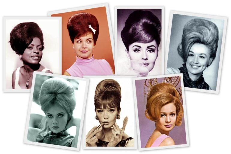 How to make a '60s beehive hairstyle