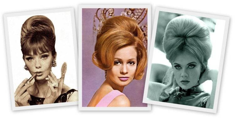 How to make a '60s beehive hairstyle - Celebrity hairdos