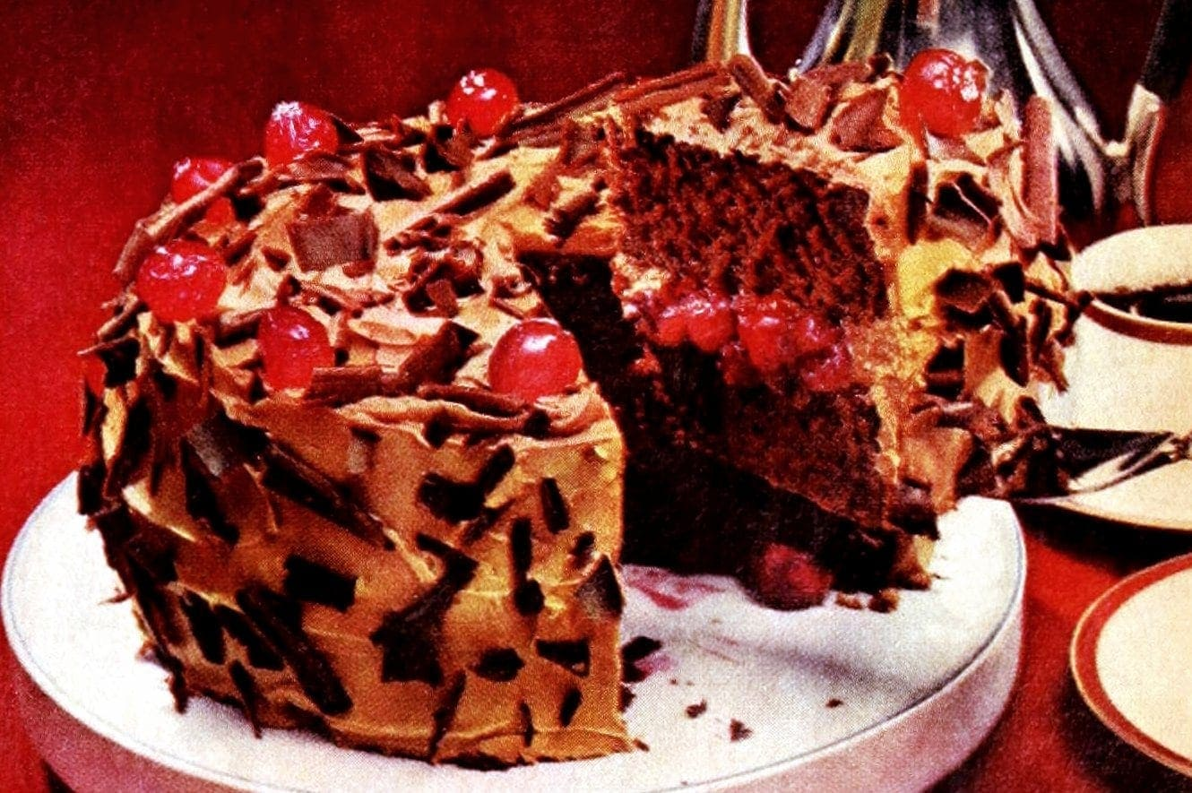 How to make a delicious Chocolate-cherry torte