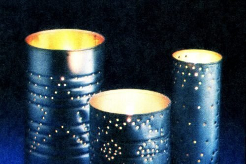 How to make a night light from a metal can (1981)