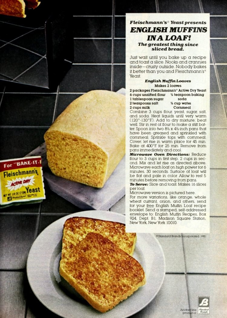 How to make an English muffin bread loaf