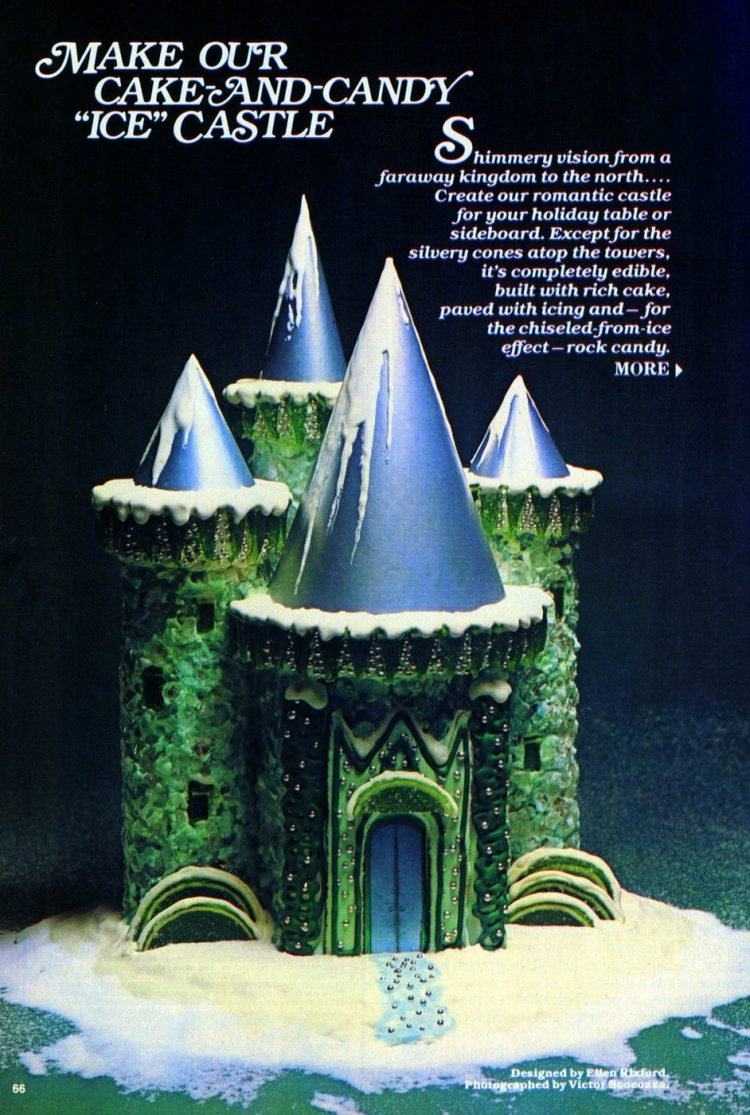 How to make an ice castle cake (1979)