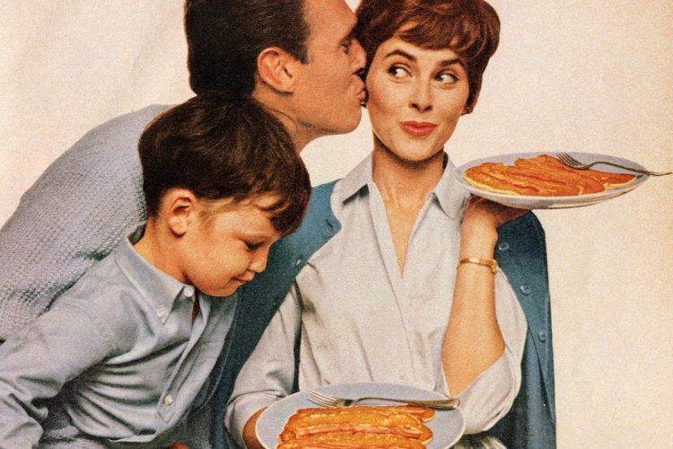 How to make bacon strip pancakes - vintage recipe