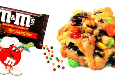 How to make easy m&ms jumbles cookies