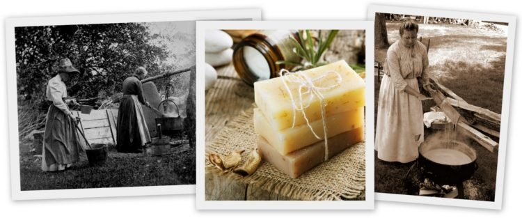 How to make homemade soap the old-fashioned way 1900s