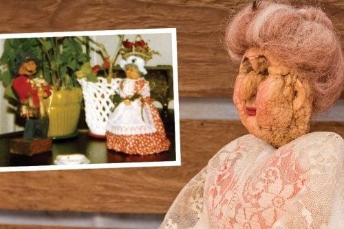 How to make old-fashioned apple head dolls - shrunken apple vintage crafts