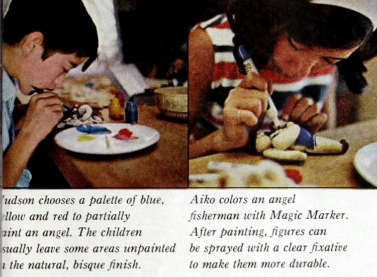 How to make vintage-style Christmas salt dough ornaments - 1964