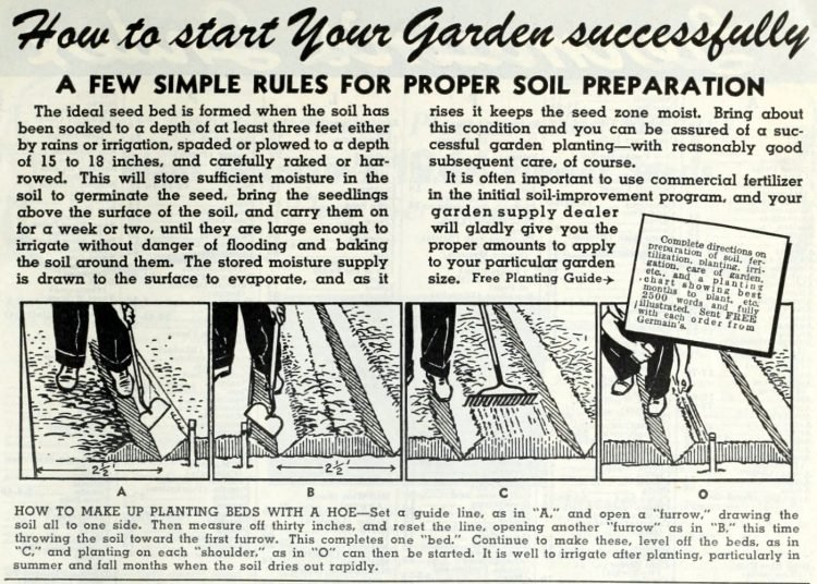 How to start your Victory Garden successfully - 1944