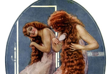 How women from 100 years ago got such beautiful hair