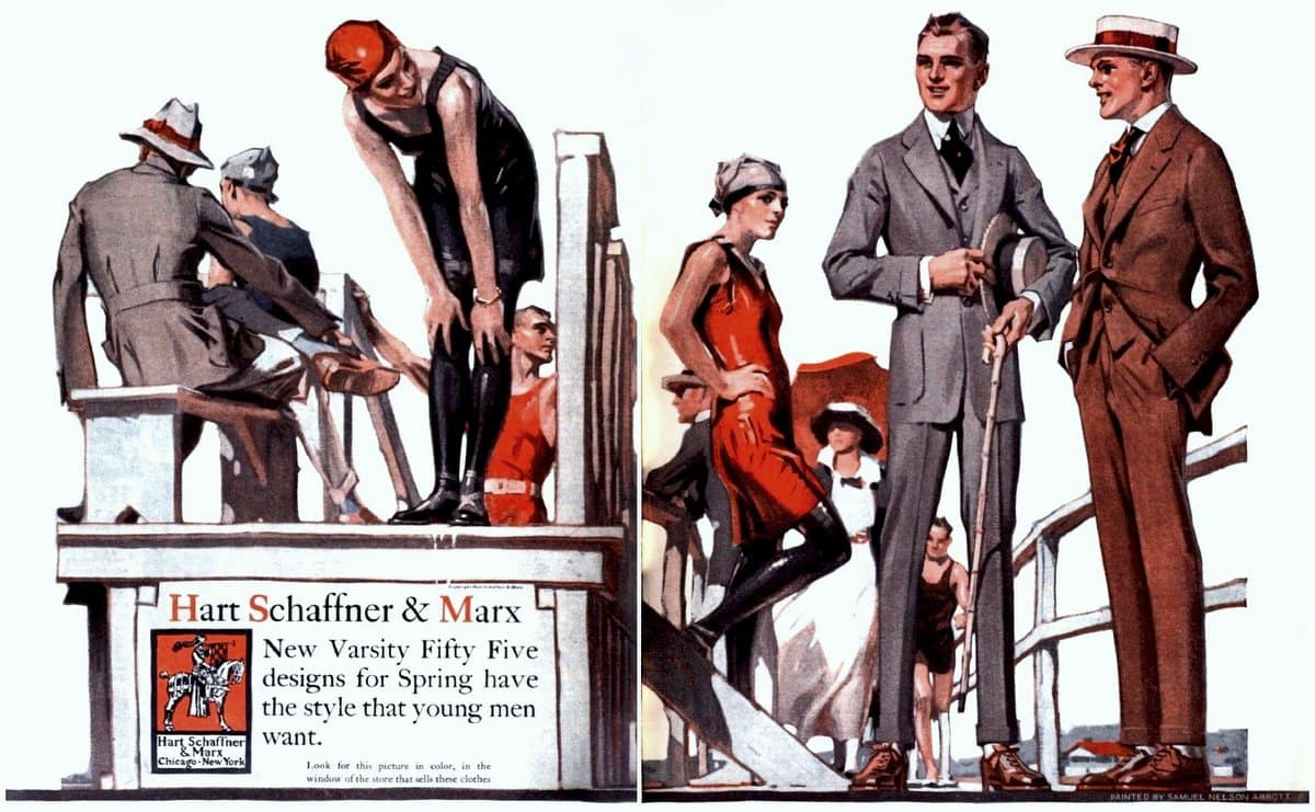 How your clothes can make you look stouter or slimmer, taller or shorter (1916)