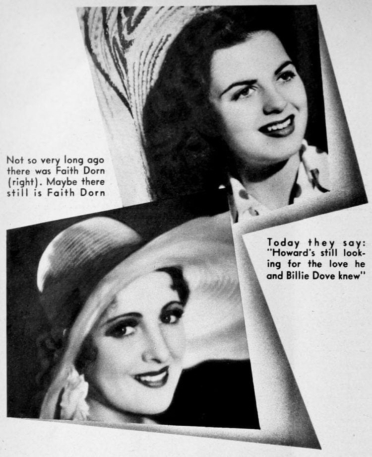 Howard Hughes - Faith Dorn Billie Dove