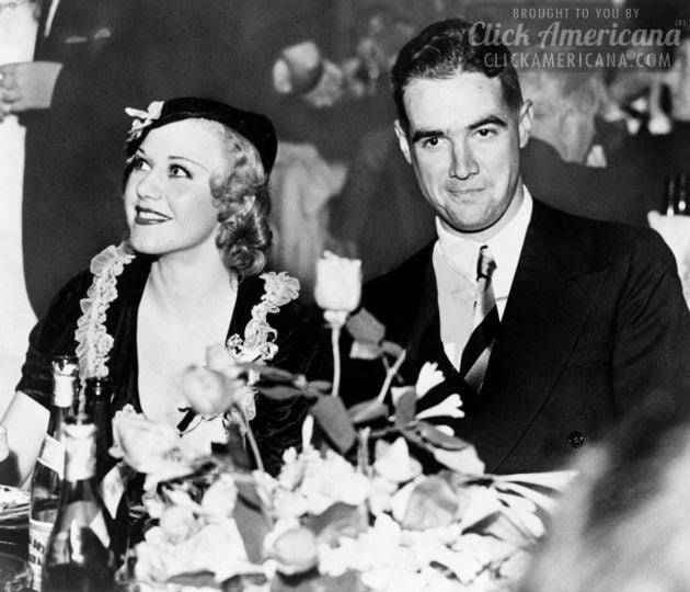 Howard Hughes and Ginger Rogers 1937