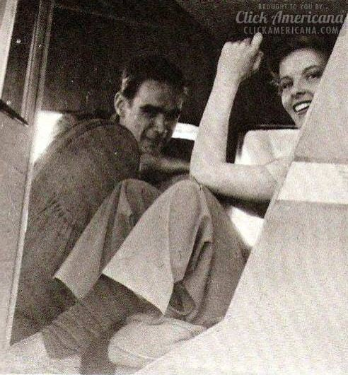 Howard Hughes and Katharine Hepburn