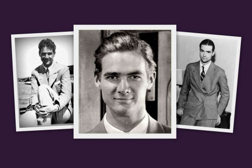 Howard Hughes, before he went off the rails and was still Hollywood's secret heartbreaker (1942)